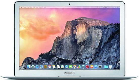 Apple-MacBook-Air MMGF2LL/A (Early 2015 Model) - Best Students laptop under $1000