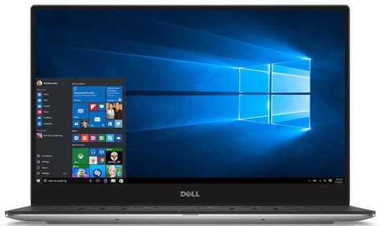 Dell-XPS9350-4007SLV Microsoft Signature Edition Laptop