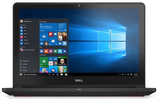 Dell-Inspiron-i5577-7359BLK - Affordable laptops for CAD work and 2D/3D modeling