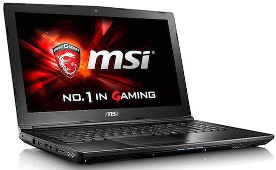 MSI GL62 6QF-1278 Gaming Laptops Black Friday Deals 2016