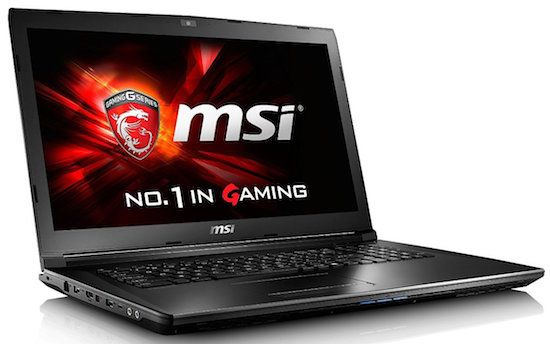 MSI-GL72-6QF-405 - 17-Inch Gaming Notebook Under 1000 Dollars