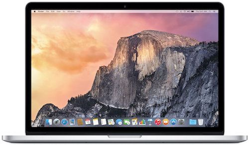 Apple MacBook Pro with 15-Inch Retina Display - Best Mac for CAD works and 3D Modeling