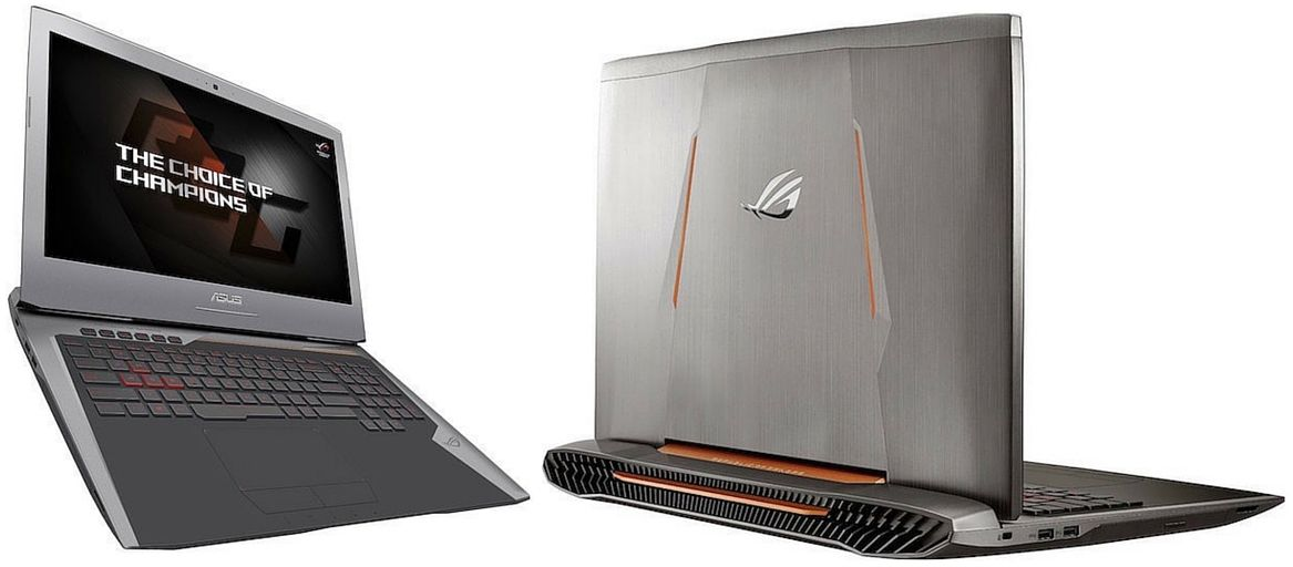 Asus Rog G752VT-DH72 17 Inch quad core i7 gaming laptop