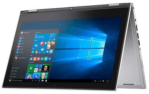 Dell Inspiron 13 i7359-8408SLV Signature Edition - best convertible laptop to buy this back to school season