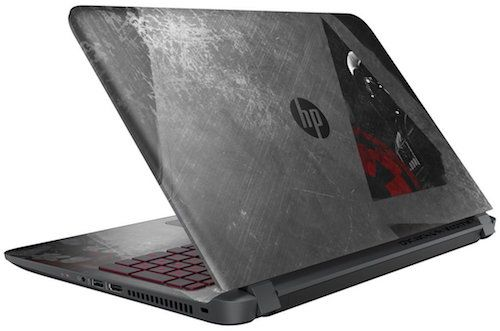 HP-15-an050nr-Star-Wars-Special-Edition-Gaming-Laptop - Best Looking Gaming Laptops Under 500 Dollars