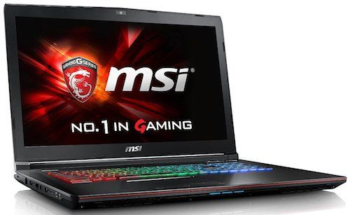 MSI GP72X Leopard Pro-622 17-Inch Gaming Notebook - Best Gaming Laptops Under 1500 Dollars