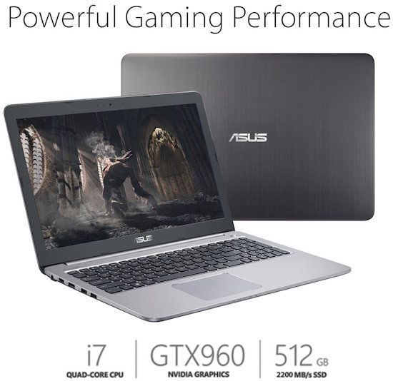 Asus K501UW-AB78 - Best Laptop for Game Development and Graphics Programming