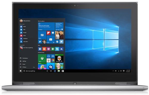 Dell Inspiron i7359 2435SLV 13.3-Inch Budget Convertible Laptop For College Studentsz