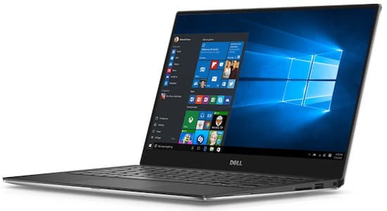 Dell XPS 13 Laptop - best black friday laptop deals 2017