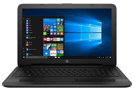 HP 15-AY103DX touchscreen laptop - best laptop for quickbooks 2018