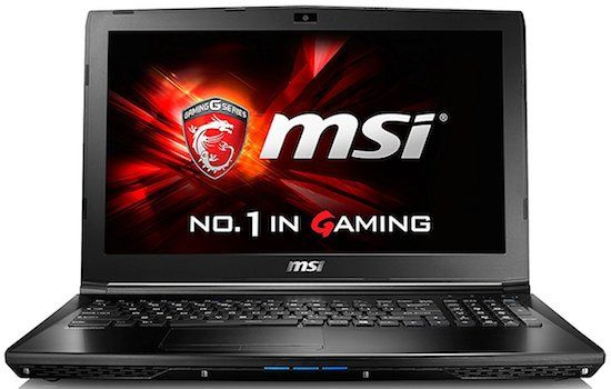 MSI GL62-7QF-1660 High Performance Gaming Laptop