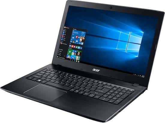 Acer Aspire E 15 - best budget laptop for making music