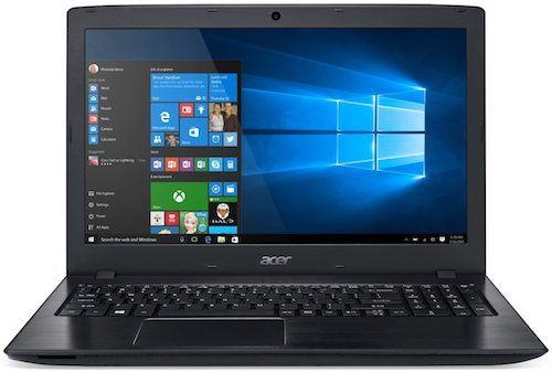 Acer Aspire E5-575G-57D4 - best laptops for video editing under $500