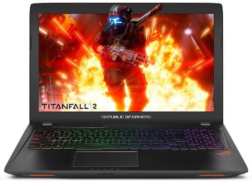 Asus ROG Strix GL753VE-DS74 - best 17 inch laptops of 2017