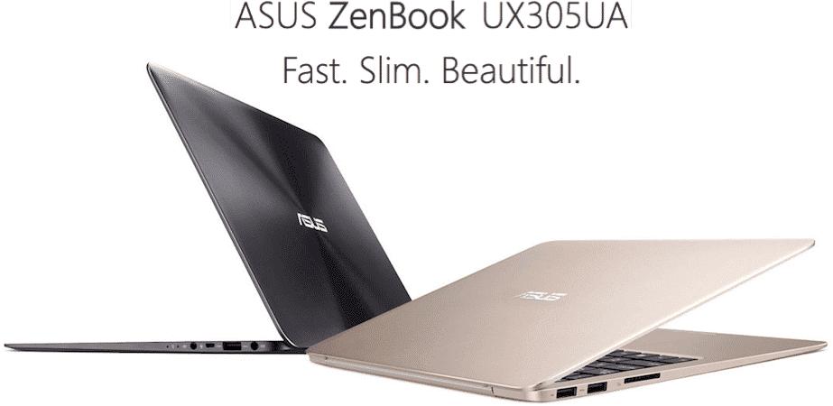 Asus ZenBook UX305UA Design