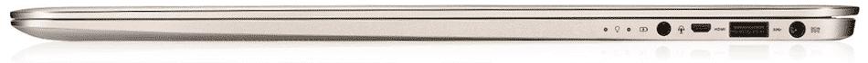 Asus ZenBook UX305UA ports slots