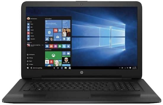 HP 17-X114dx - best 17 inch budget laptop under $500