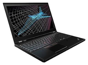 Lenovo ThinkPad P50 15 inch Workstation Laptop - best laptop for autocad and solidworks