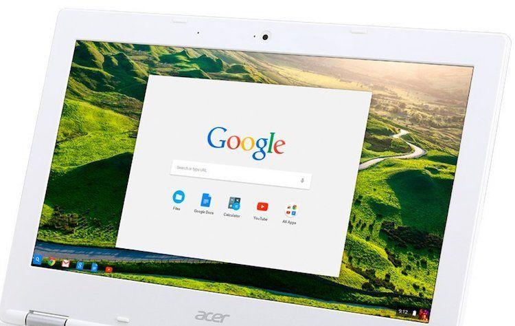 Acer Chromebook 11 CB3-131-C3SZ Laptop - Display