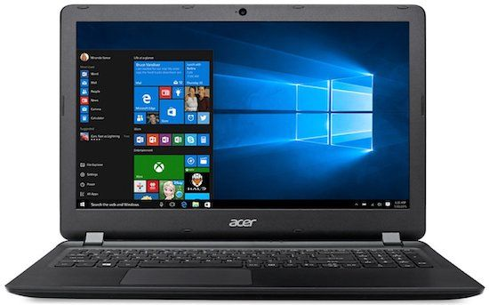 Acer Aspire ES15 - best laptops for school and gaming under 300 dollars