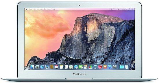 Apple MacBook Air 11 Late 2015 Model