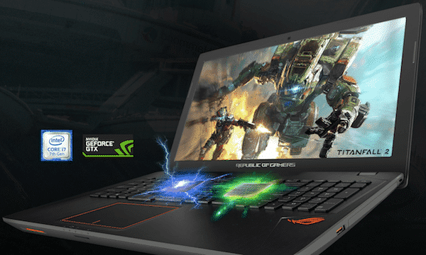 Asus ROG STRIX GL553VD Hardware Review
