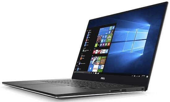 Dell XPS9560 15 Inch 4K Video Editing Laptop