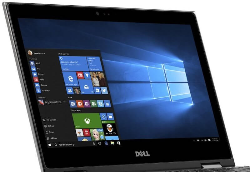 Dell Inspiron 13 5000 convertible laptop - display