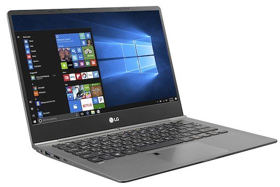 LG Gram 13 - best ultrabook under 1000 dollars for students