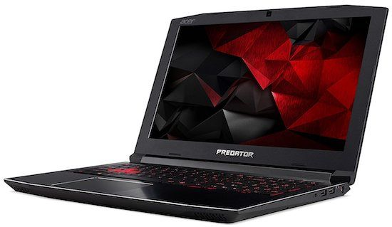 Acer Predator Helios 300 best laptop for video editing under $1000