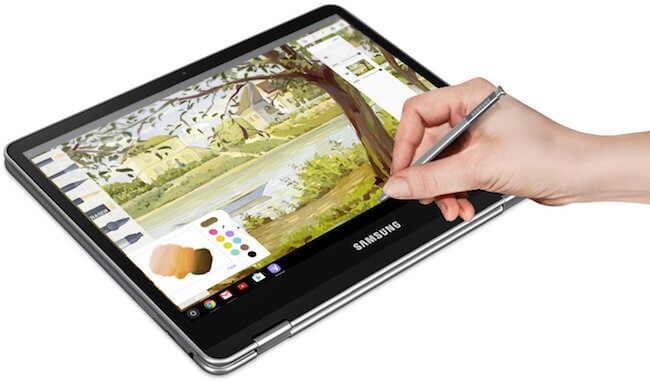 Drawing with Samsung Pen