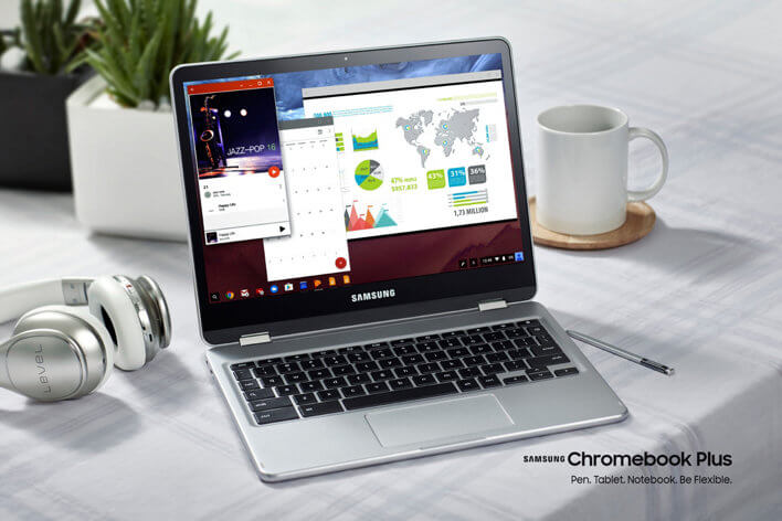 Samsung Chromebook Plus Convertible Laptop Review