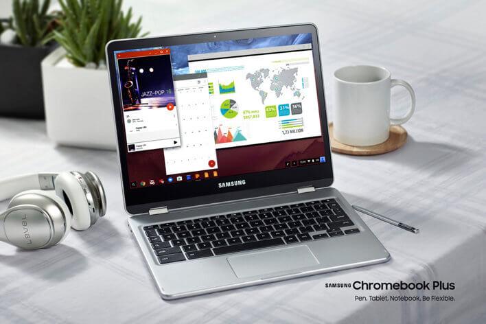 Samsung Chromebook Plus Convertible Laptop Review