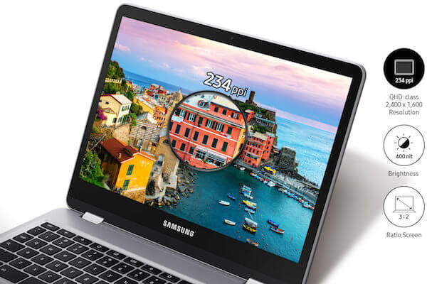 Samsung Chromebook Plus - Display