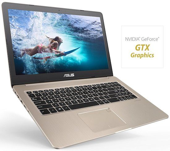 ASUS M580VD-EB54 VivoBook Budget Laptop for Video Editing Under $800