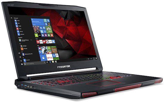 Acer Predator 17 X - best desktop replacement laptops of 2017