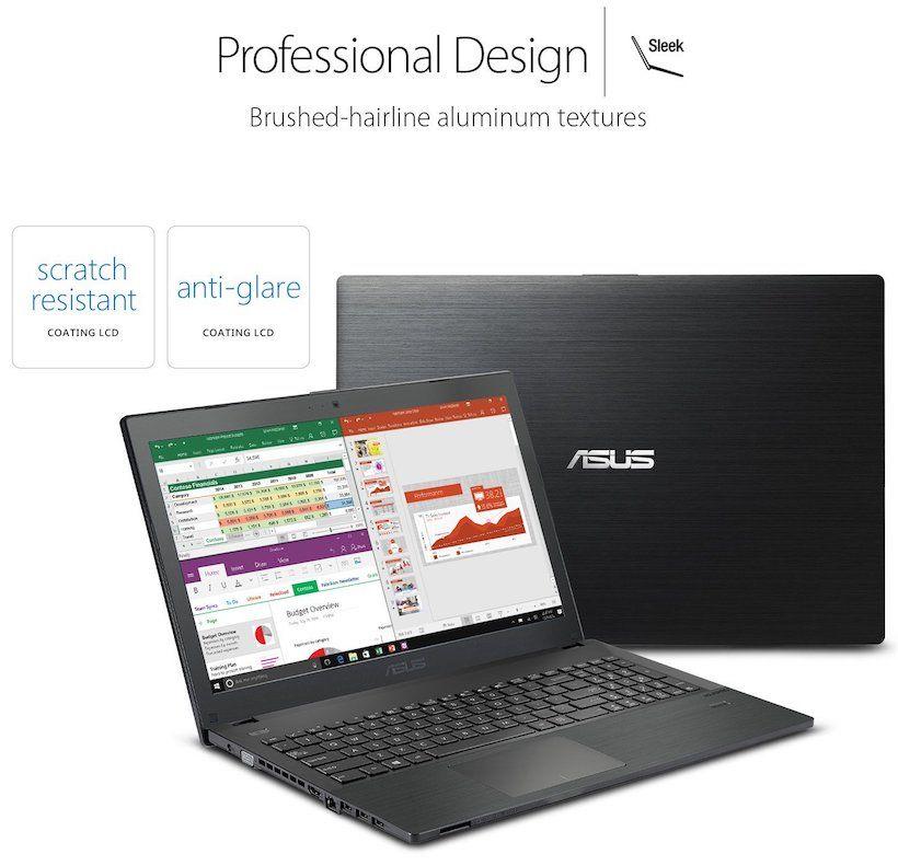 ASUS P-Series P2540UA-AB51 Business Laptop - Design and Build Quality