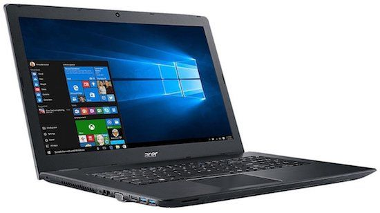 Acer Aspire E5 affordable 17-Inch gaming laptop