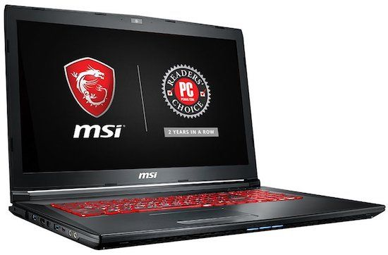 MSI GL72M 7RDX-800 17.3 Gaming Laptop