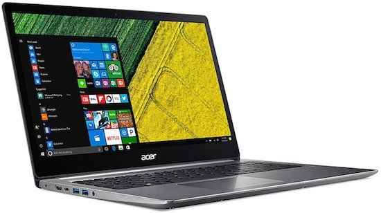 "Acer Swift 3 15"" Full HD Ultrabook with 8th generation Intel - best laptop for students"