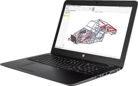 HP ZBook 15u G4 Workstation Laptop