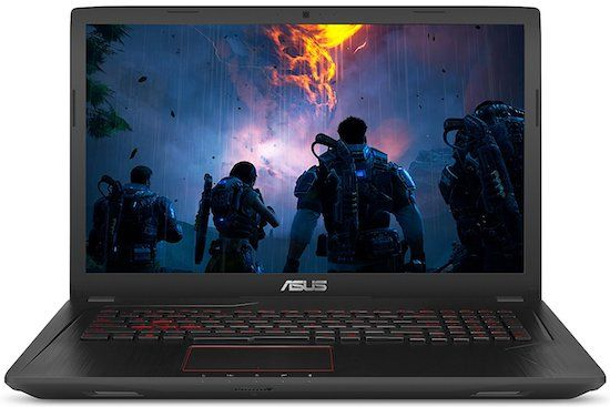 Asus FX73VE-WH71 - best 17 inch laptops of 2017