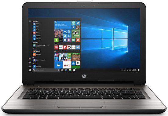 HP 14 inch windows 10 laptop under $200