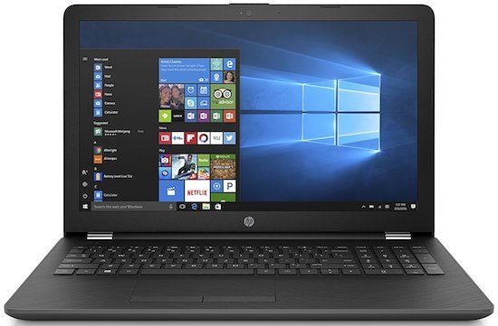 HP 15t - best laptops for school under 300 dollars
