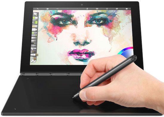 Lenovo Yoga Book - best laptop for artists
