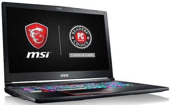 MSI GE73VR Raider-003 best 17 Inch Laptop - 2018