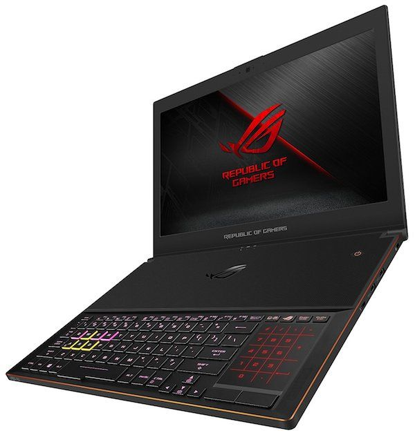 ASUS ROG Zephyrus GX501 lightweight 15 inch laptop for video editing