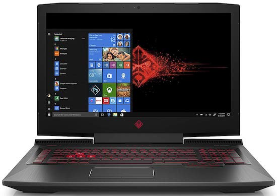 HP Omen 17 - best desktop replacement laptop under $1500