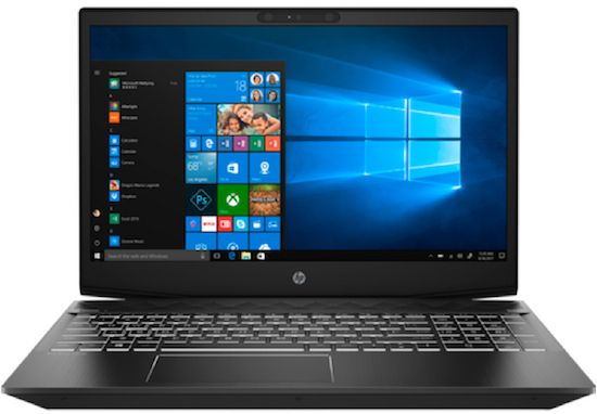HP Pavilion 15 gaming laptop - best black friday gaming laptop deal 2018