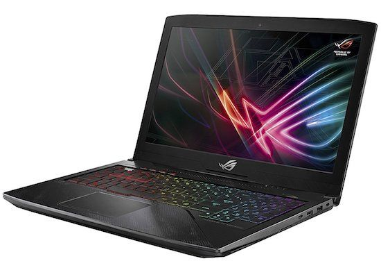 ASUS ROG Strix Hero Edition - best gaming laptops under 1500 dollars
